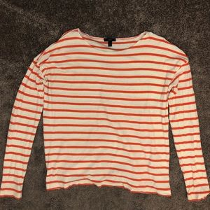 Deck Striped long sleeve tee - size L